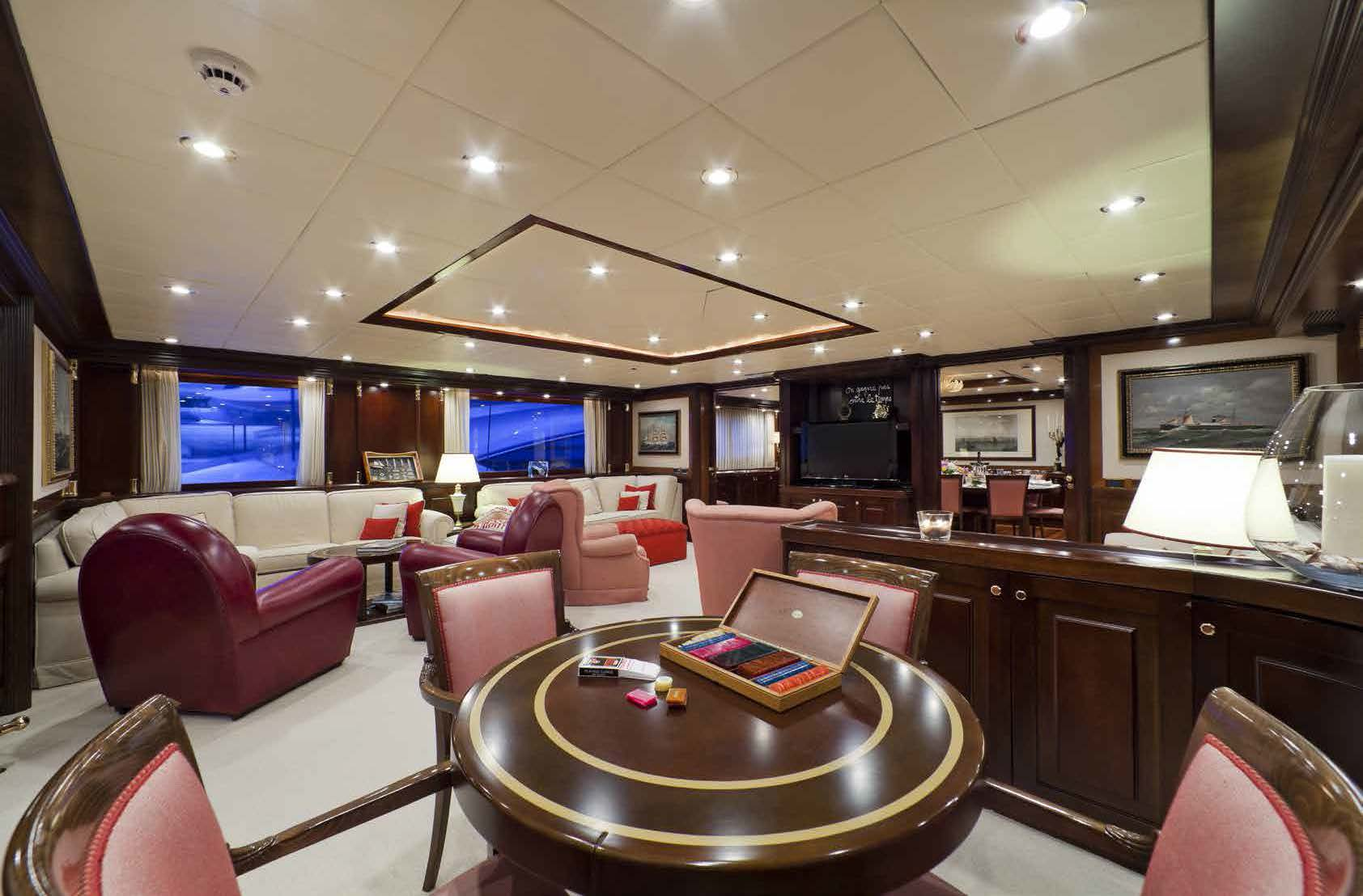 playroom M/Y SOPHIE BLUE for charter