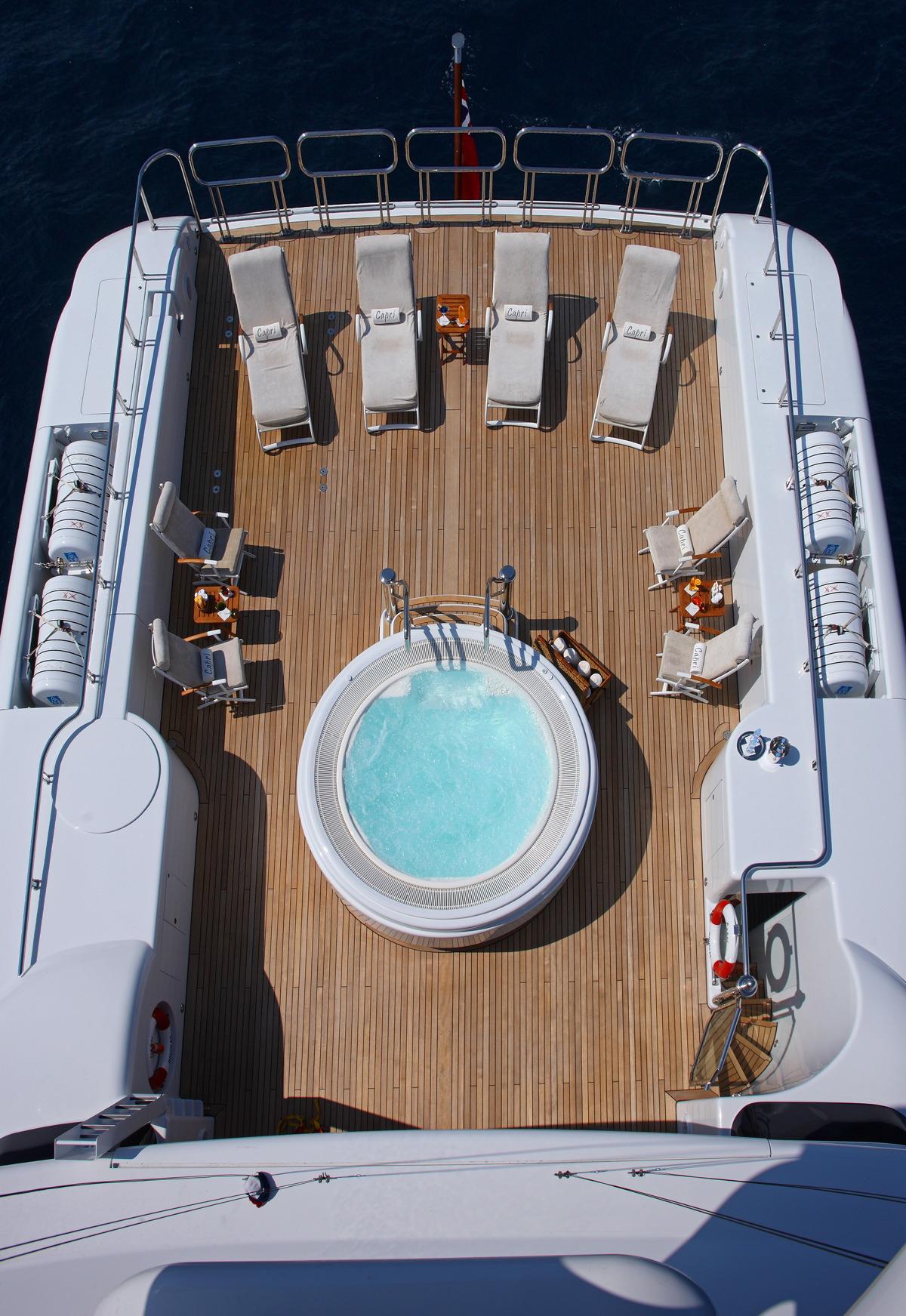 Capri luxury yacht charter