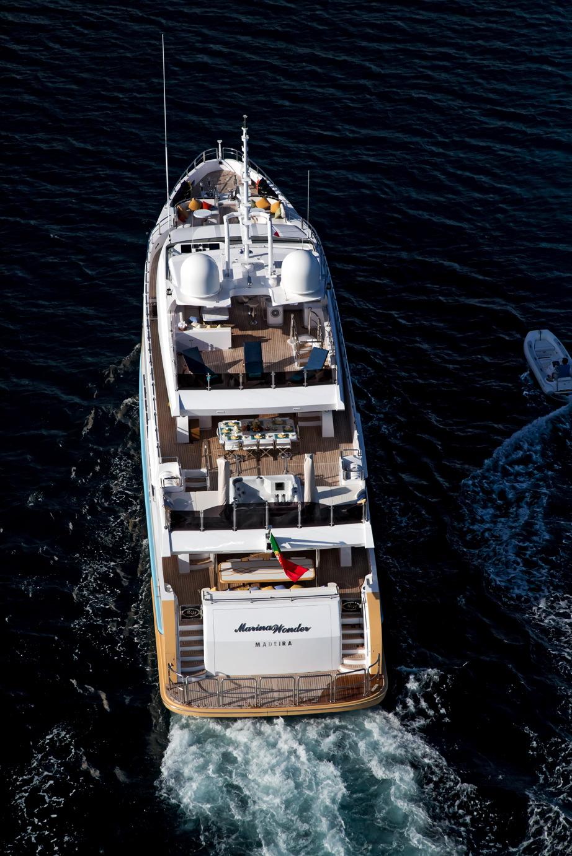 MY Marina Wonder luxury motor yacht charter monaco