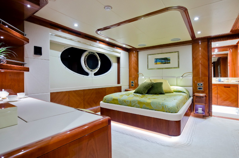 M/Y Marina Wonder luxury yachts for charter luxury bedroom