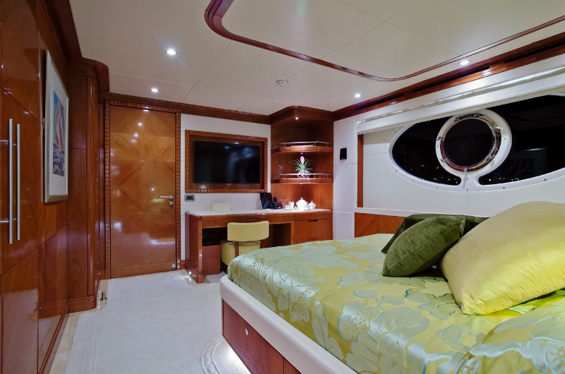 M/Y Marina Wonder luxury yacht for charter private cabin
