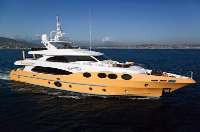 M/Y Marina Wonder luxury motor yacht charter