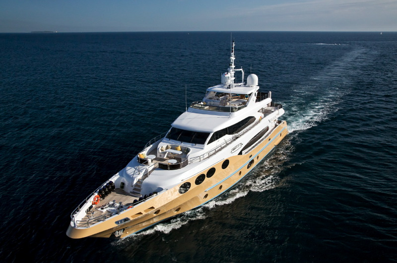 MY Marina Wonder luxury motor yacht charter fort lauderdale